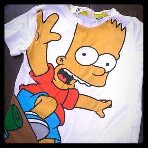 H&M Bart Simpson 12M Tee